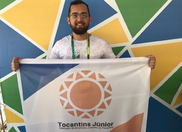 Carlos Eduardo Souza, da Ampla Consultoria Júnior (Foto: Rennan Araújo)