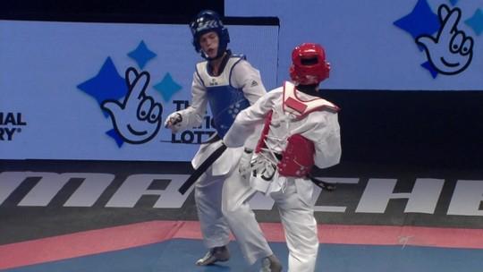 Paulo Ricardo Melo conquista a medalha de bronze no Campeonato Mundial de taekwondo