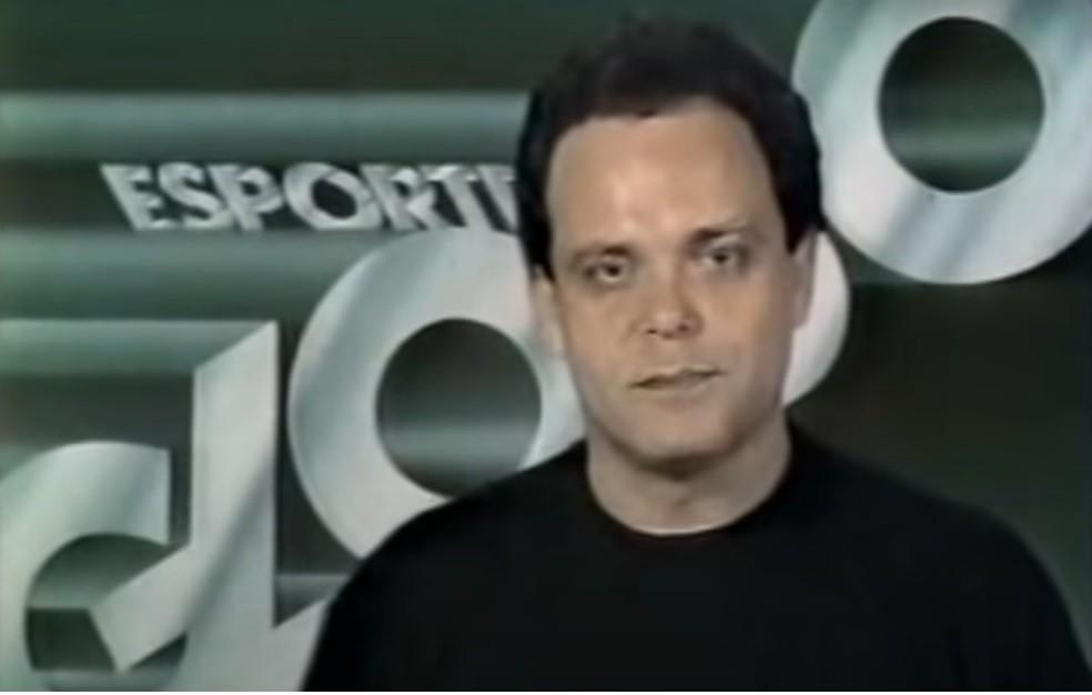 Fernando Vannucci, apresentador, TV Globo — Foto: Reprodução/TV Globo