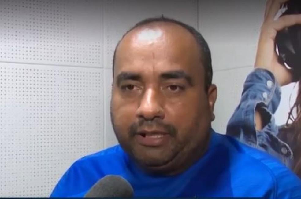 Vereador Clodoaldo Rodrigues está em Rio Branco a tratamento de saúde e diz que não foi notificado para assumir a prefeitura  — Foto: Reprodução/Rede Amazônica Acre