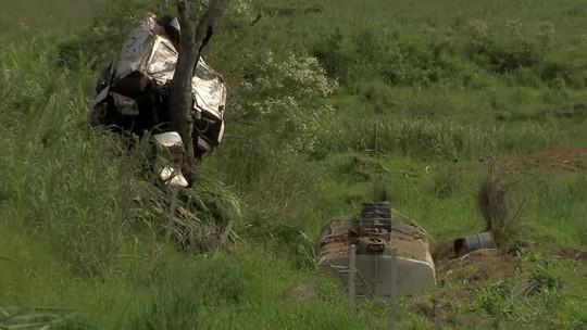 Condutor de carreta morre em acidente na BR-267