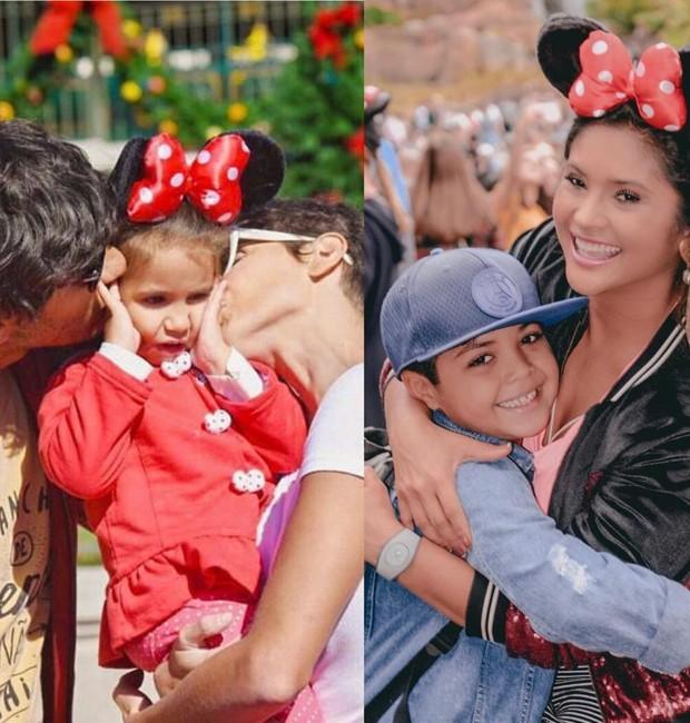 Famosos na Disney (Foto: Reprodução/Instagram)