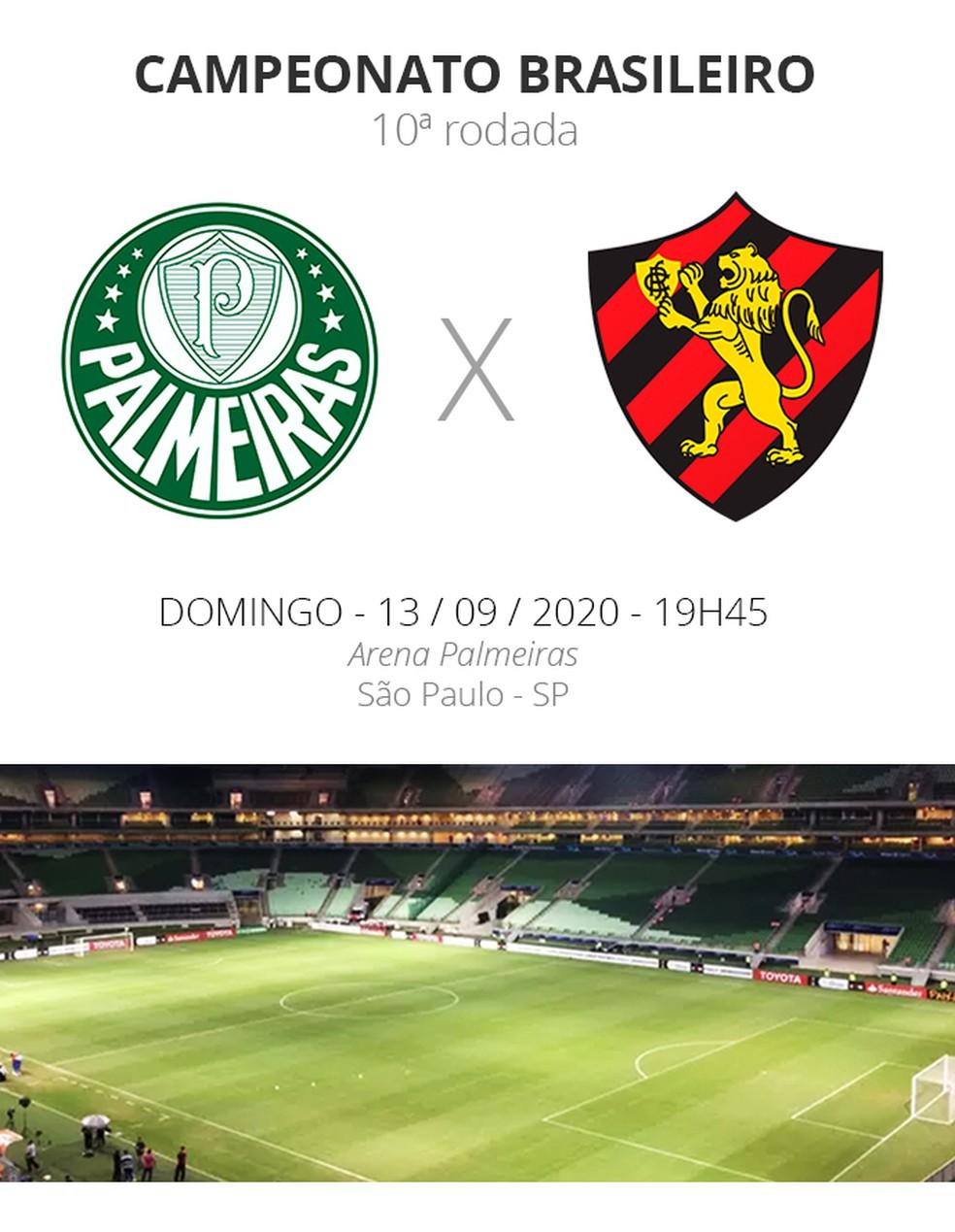 Palmeiras X Sport Veja Onde Assistir Escalacoes Desfalques E Arbitragem Brasileirao Serie A Ge