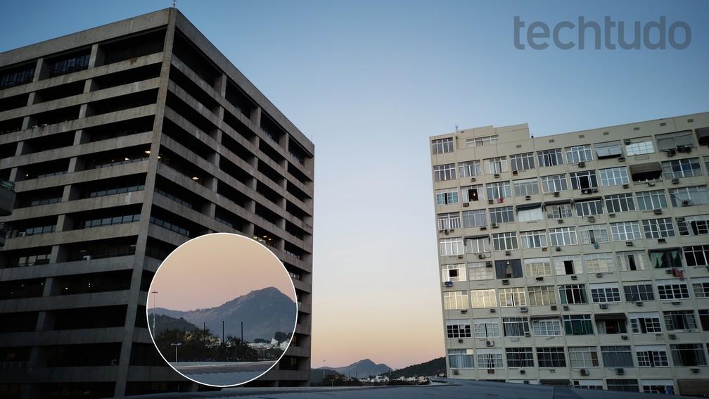 Motorola One Hyper têm modo que permite ampliações sem perda de detalhes — Foto: Rubens Achilles/TechTudo