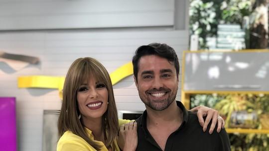 Ana Furtado e Ricardo Pereira estreiam no 'Mais Você'