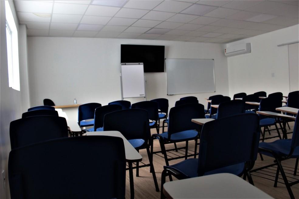 O IEP conta com quatro salas de aula, além de laboratório e biblioteca — Foto: Divulgação/Assessoria da Santa Casa de São Carlos