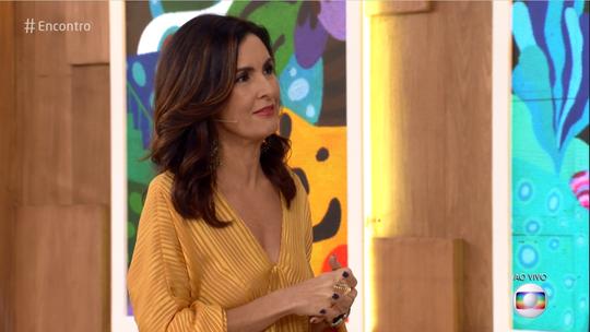 Fátima Bernardes conta em que situação usaria o 'árbitro de vídeo'