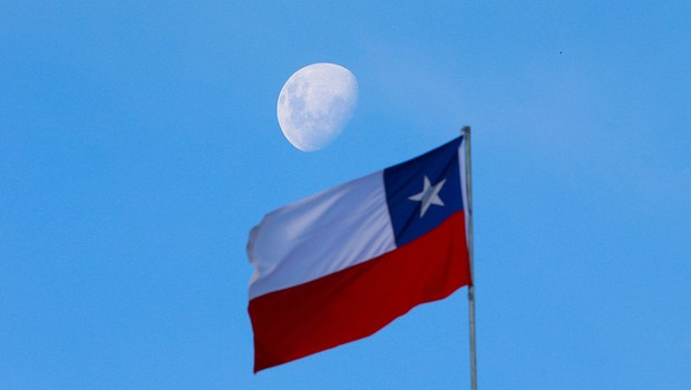 Chile - bandeira  (Foto: Miguel Tovar/LatinContent/Getty Images)