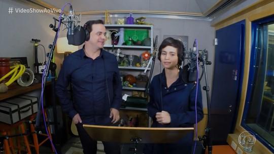 Carioca grava 'Vídeo Fake' com Nanda Costa