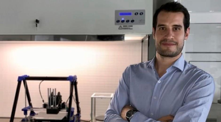 Giuseppe Scionti é o cientista que criou o bife (Foto: Divulgação)