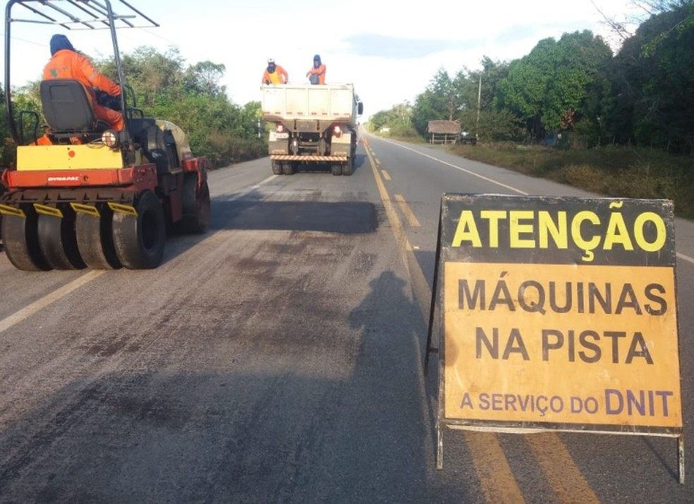 Governo anuncia obras de recuperação da BR-402, no Maranhão — Foto: Divulgação/Ministério da Infraestrutura