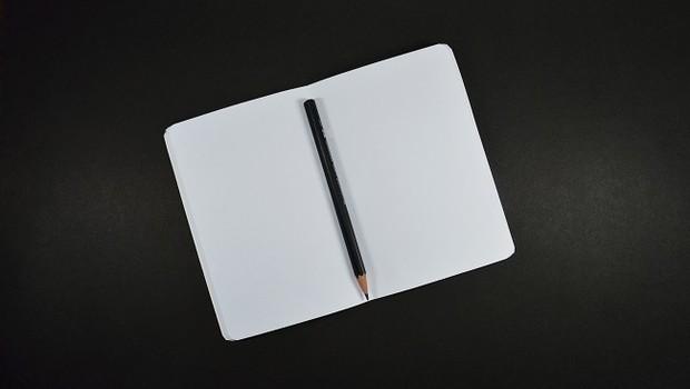 Caderno de anotações; estudo (Foto: Pexels)