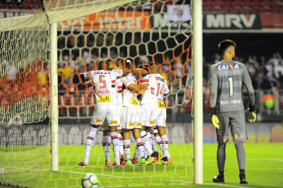 São Paulo é o primeiro a somar 1000 pontos no Brasileirão de pontos corridos