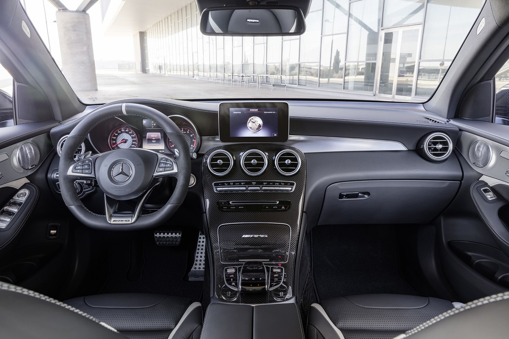 Mercedes-AMG GLC 63 4Matic+ (Foto: Divulgação)