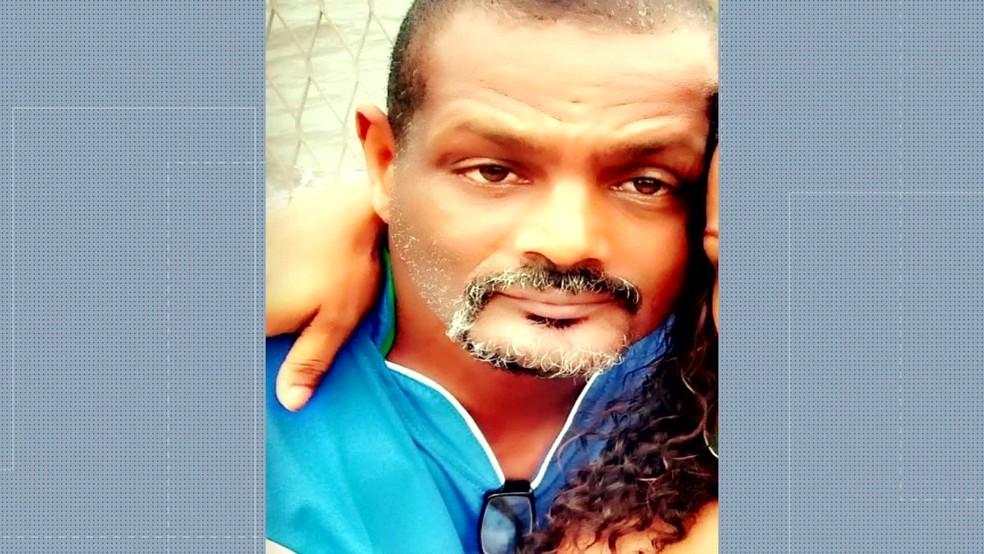 Vaulir Richard Costa foi morto a tiros em Magé (Foto: Reprodução Tv Globo)