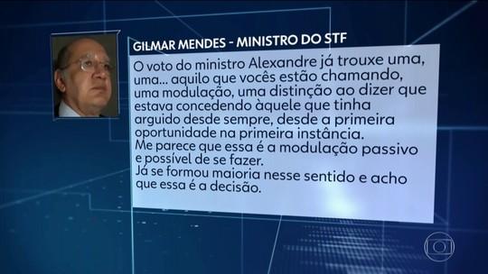Gilmar Mendes diz ver maioria no STF para limitar efeitos de anulação de sentenças da Lava Jato