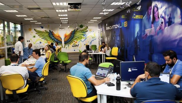 Sede do Open Innovation Lab, programa criado pela Algar Tech (Foto: Divulgação)