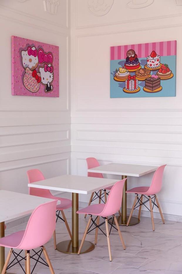 Novo café da Hello Kitty na Califórnia terá espaço para chás e drinks  (Foto: Reprodução)