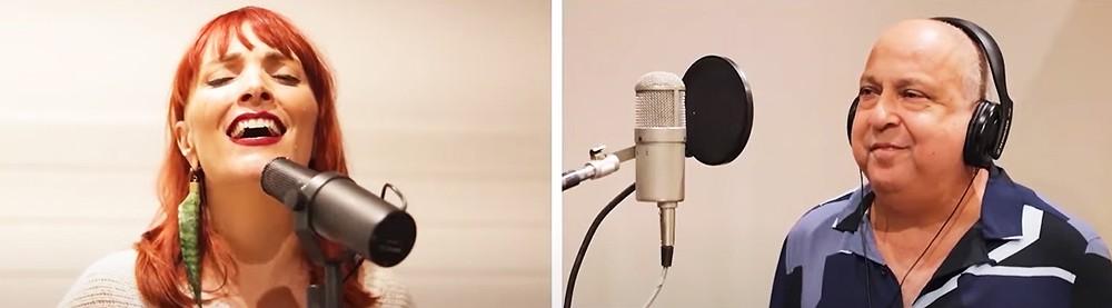 Sombrinha ecoa 'Hino da noite', samba da parceria com Arlindo Cruz, em dueto com Nina Wirtti