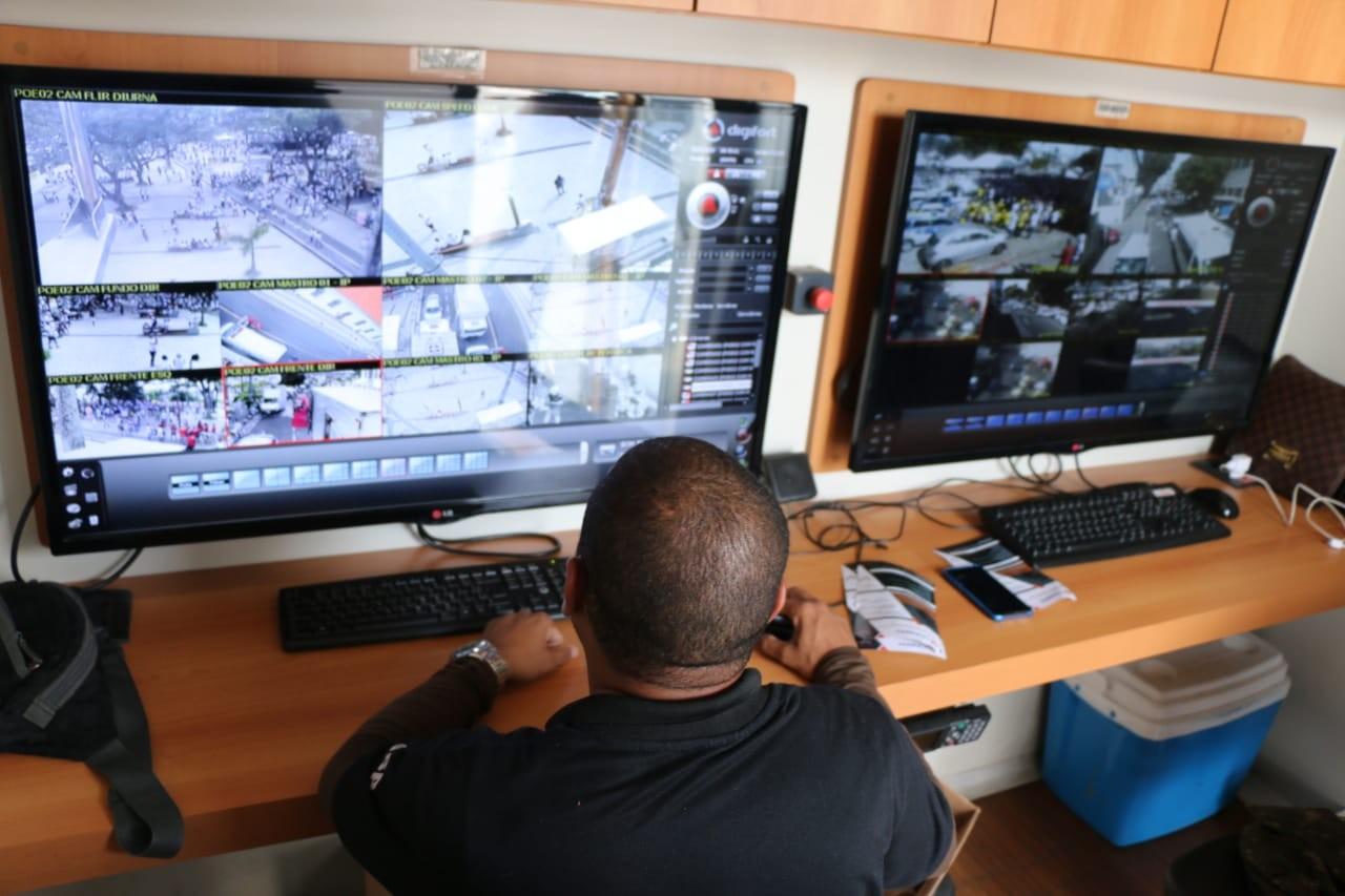 Maringá fará testes com câmeras de reconhecimento facial, diz prefeitura