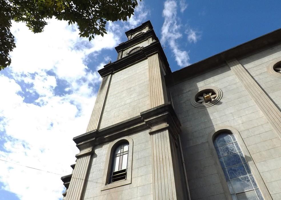 Igreja Matriz Nossa Senhora da Penha, em Castelo, Sul do ES— Foto: Divulgação/Governo ES