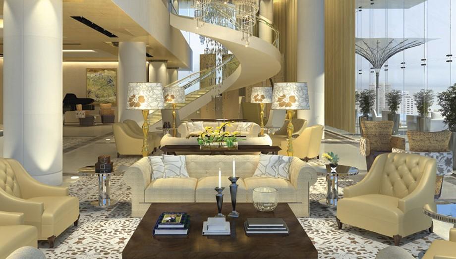 Casa tem um interior luxuoso (Foto: Divulgação )