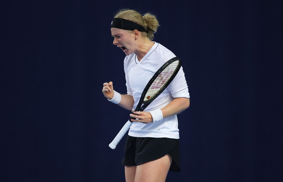 Fran Jones tênis — Foto: Getty Images