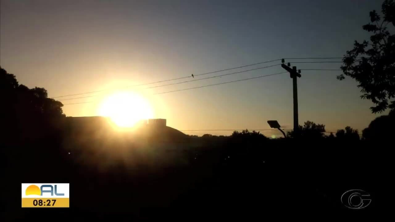 Veja as fotos do amanhecer enviadas pelos telespectadores
