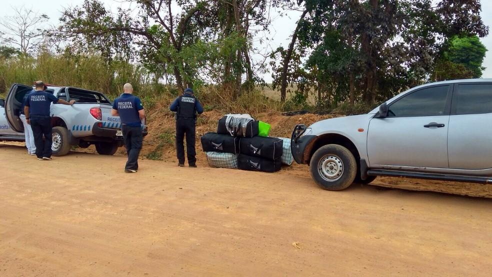-  Operação da Receita Federal apreende mais de R$ 150 mil de contrabando em RO  Foto: Receita Federal/Divulgação
