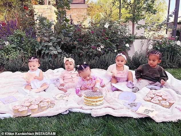 Filhos das Kardashian (Foto: Reprodução / Instagram)
