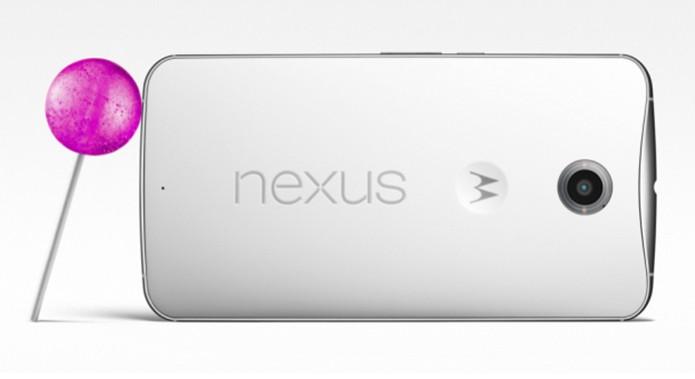 Nexus 6 vem equipado com o novo Android 5 e possui boas especificações (Foto: Divulgação/Google) (Foto: Nexus 6 vem equipado com o novo Android 5 e possui boas especificações (Foto: Divulgação/Google))