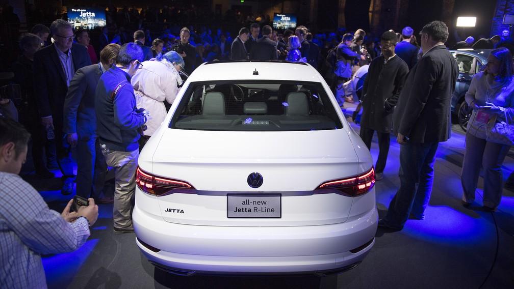 Novo Volkswagen Jetta (Foto: Jim Watson/AFP)