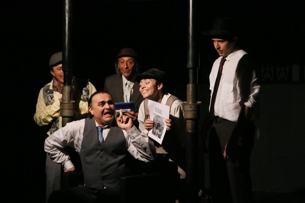 """Espetáculo """"Geração Trianon"""" é atração no Theatro José de Alencar. (Foto: Felipe Abud/Divulgação)"""