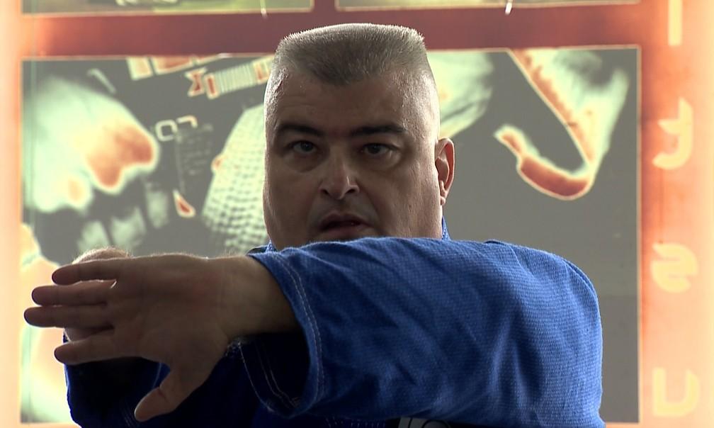 Henrique Surerus luta jiu-jítsu em Juiz de Fora — Foto: Reprodução/TV Integração