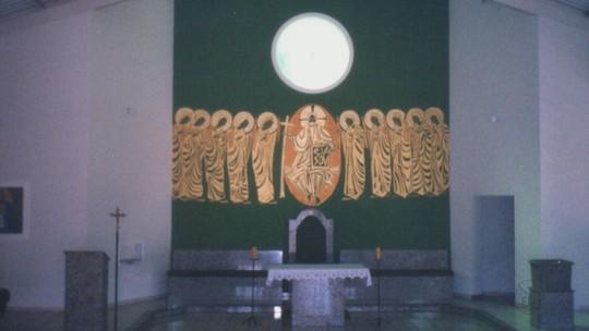 Pintura sacra em capela de São José do Rio Pardo, SP, é apagada e revolta artista