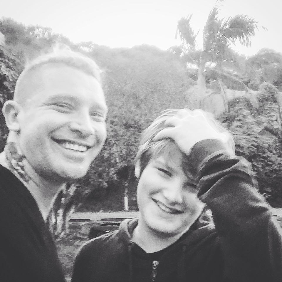 Alvaro Jacomossi e Zion (Foto: Reprodução / Instagram)