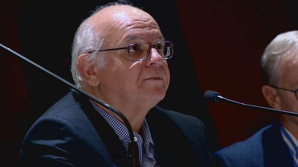 Romildo Bolzan Júnior, presidente do Grêmio — Foto: Reprodução / RBS TV