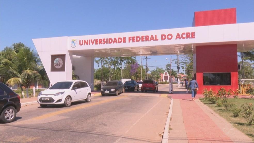 Aprovados na primeira chamada do Sisu devem efetuar matrícula institucional na Ufac até 4 de fevereiro — Foto: Reprodução/Rede Amazônica Acre