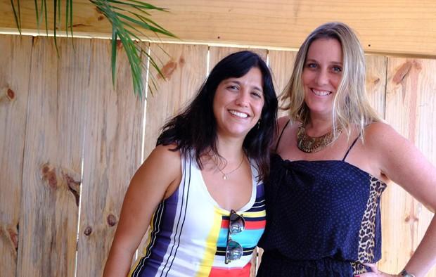 Patrícia Moretzsohn e Natalia Grimberg (Foto: Renato Wrobel/ QUEM)