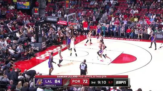 Los Angeles Lakers e Oklahoma City Thunder vencem pela NBA