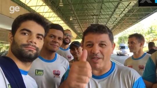 Com campeão brasileiro no time, AJQ chega a São Paulo para GP de judô