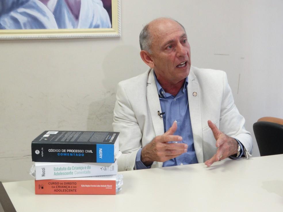 Juiz José Fernando, em Caruaru — Foto: Joalline Nascimento/G1