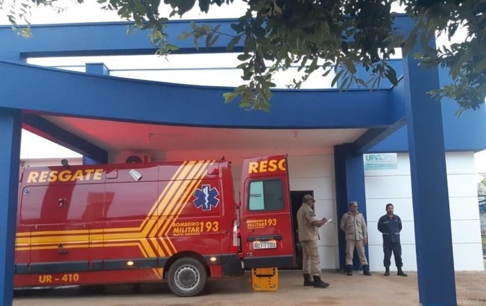 Corpo de Bombeiros socorreu vítimas de afogamento em Sorriso — Foto: Portal Sorriso