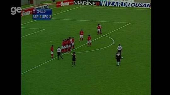 Ceni compara gol de falta de Juninho ao que fez em 2005 pelo São Paulo; GE recuperou