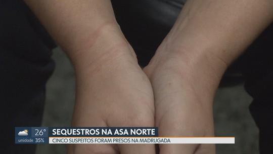 Grupo que sequestrou ao menos 4 mulheres na Asa Norte é preso no Paranoá