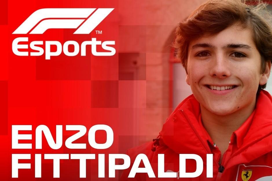 Enzo Fittipaldi correrá pela Ferrari na competição virtual de F1 (Foto: Divulgação)