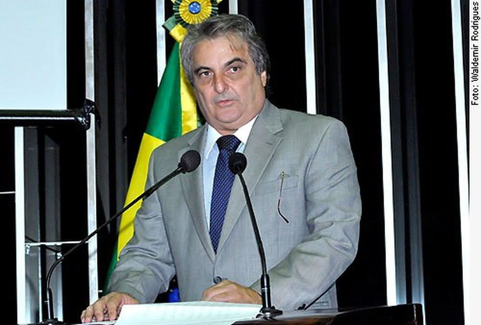 José Alberto Pinto Bardawil encabeça uma chapa ao Senado que tem o próprio irmão como 1º suplente (Foto: Waldemir Rodrigues/Agência Senado)