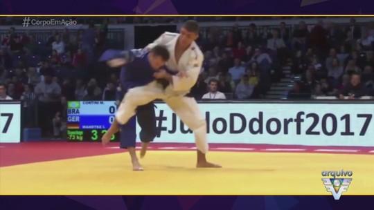 Judoca Marcelo Contini planeja temporada e mira vaga para os Jogos Olímpicos 2020