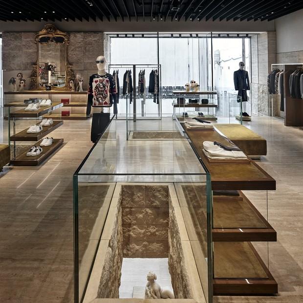 Loja da Dolce & Gabbana (Foto: Reprodução)