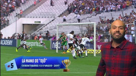 Lista do dia: Cinco maiores erros da arbitragem em Campeonato Brasileiro